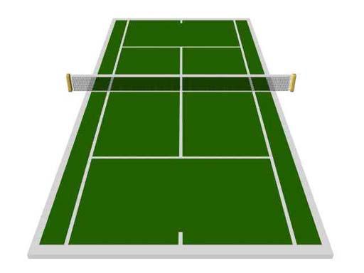 indoor volleyball net clipart