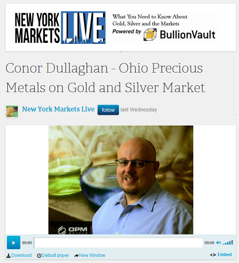 OPM, Connor Dullaghan dans New York Markets Live