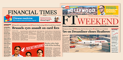 Financial Times, édition papier
