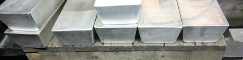 Argent métal dans le coffre fort