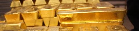 Lingots d'or dans le coffre, BullionVault
