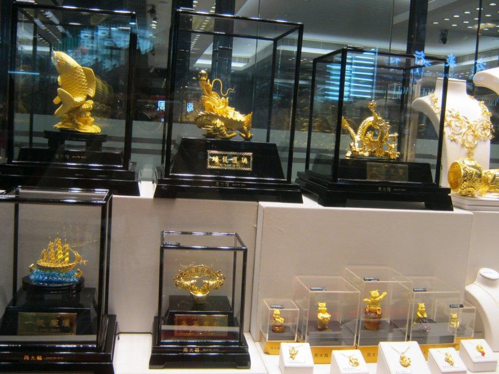 L'or en Chine, Chow Tai Fook, Thomas Podvin