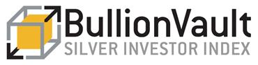 Logo de l'Indice des investisseurs en argent, BullionVault