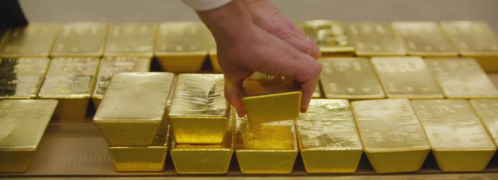 Barre d'or de 400 onces